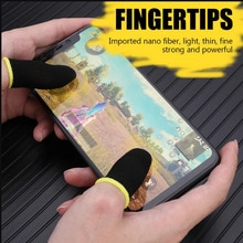 Gaming Finger Sleeve Game Controller Sweatproof Gloves Breathable Fingertips For Mobile Games Touch