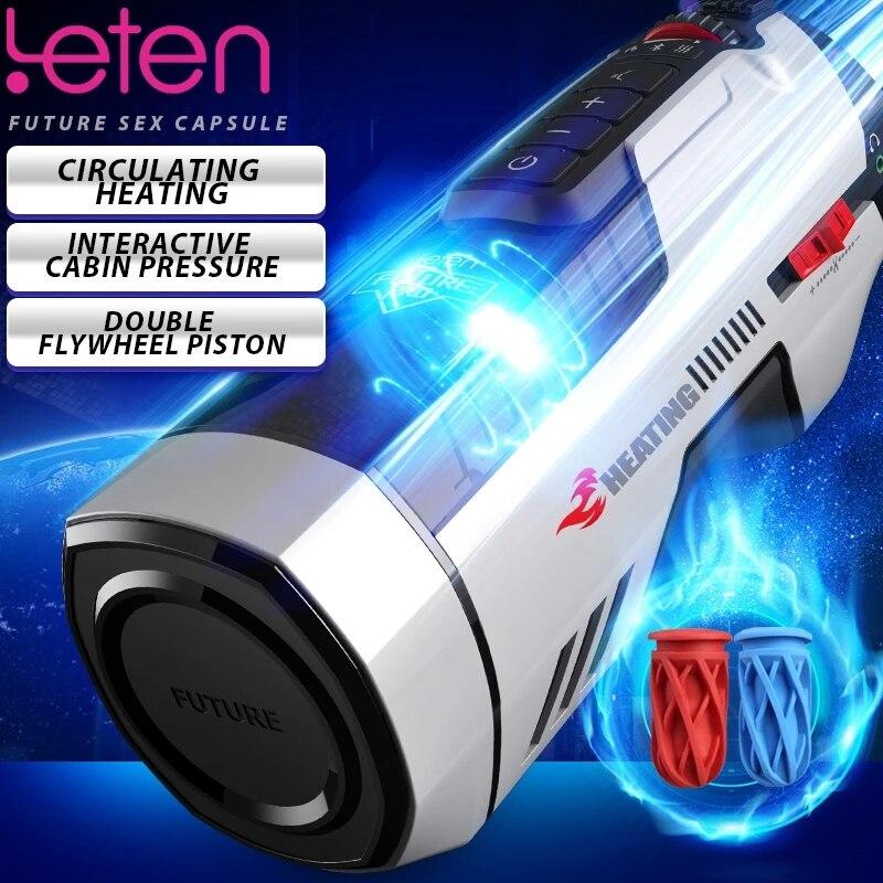 جهاز استمناء للرجال من Leten طراز 708pro جهاز استمناء يعمل بالمكبس جهاز استمناء للمهبل جهاز استمناء للمهبل جهاز ألعاب جنسية أوتوماتيكية للرجال