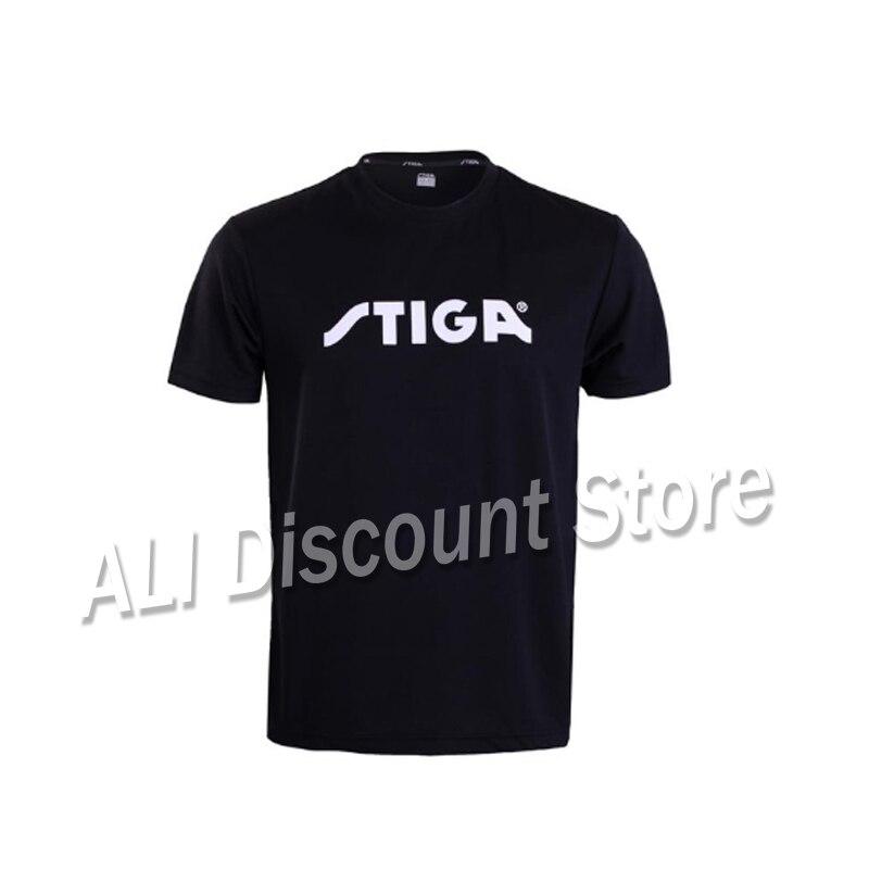 Stiga tênis de mesa camisa esporte jerseys badminton camisa tênis masculino mujer shorts