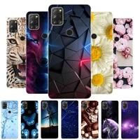 for alcatel 3x 2020 case 4 camera bumper silicone tpu soft phone cover for alcatel 3x 2020 5061 alcatel3x 3 x 2020 case cartoon