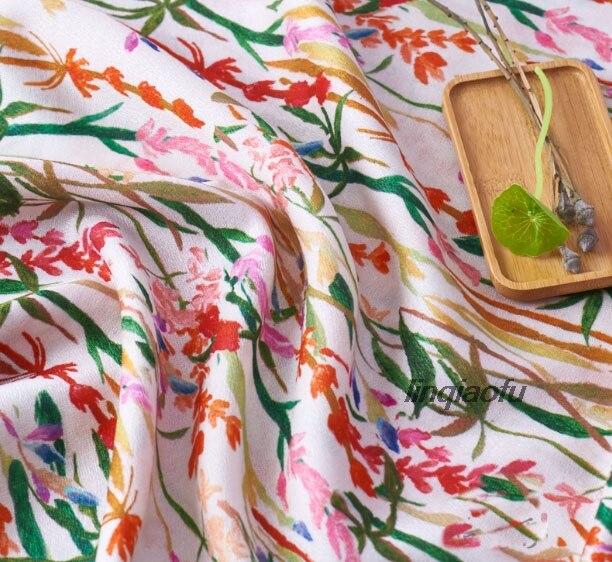 Petit tissu en soie écorce homme   Tissu dimpression en lin, peinture à lencre, tissu de vêtement de haute qualité, tissu de lin haut de gamme