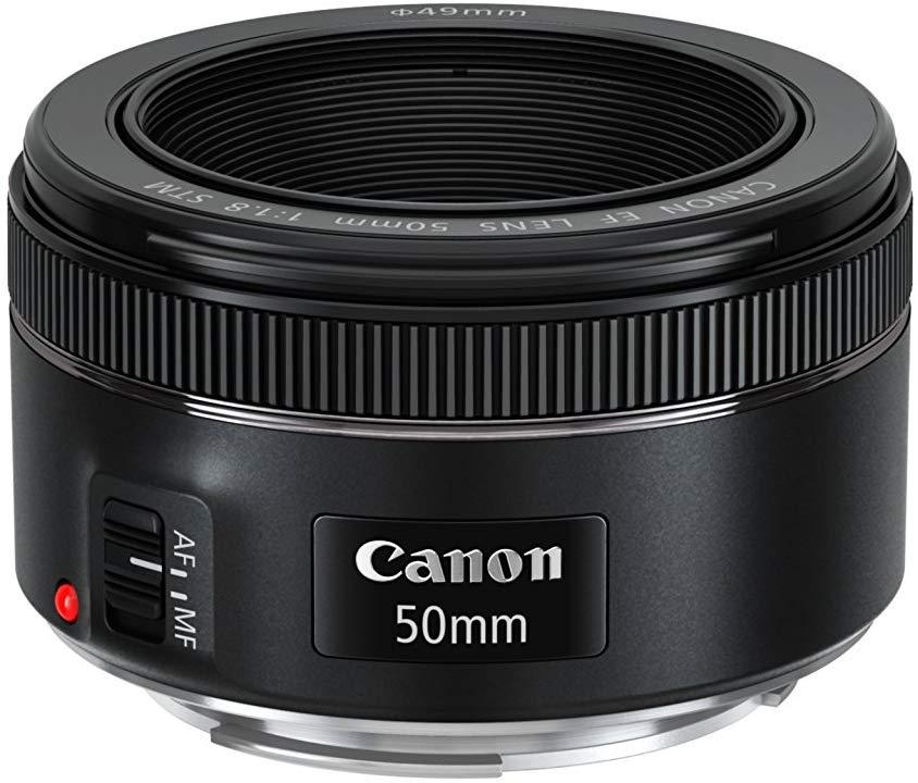 Canon EF 50mm f/1,8 STM lente completamente nueva