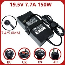 150W Power Supply 19.5V 7.7A 7.4*5.0mm Laptop Adapter for Dell Alienware M11X M14X M15X E5510 E6420