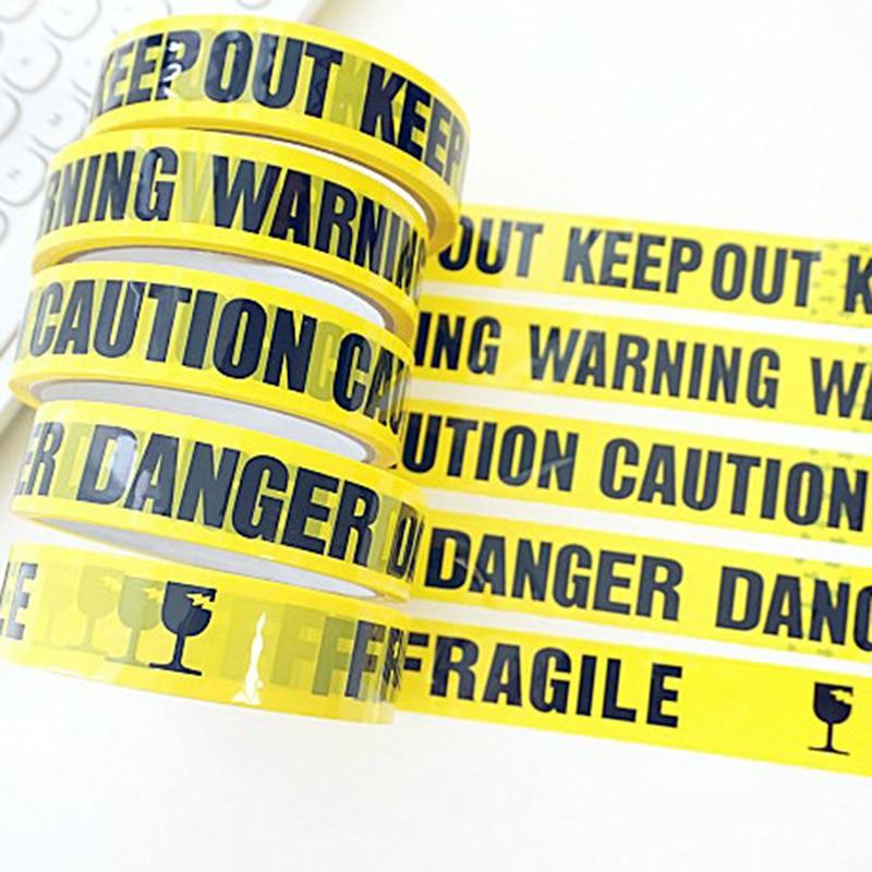 1 rollo de cinta de advertencia de 25m, barrera de advertencia de peligro, cinta adhesiva de seguridad para el trabajo, pegatina DIY para tienda de centro comercial, escuela