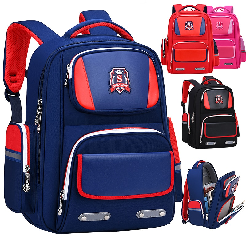 Waterproof Children School Bags Boys Girls Orthopedic school Backpacks kids schoolbags kids Satchel Knapsack Mochila escolar