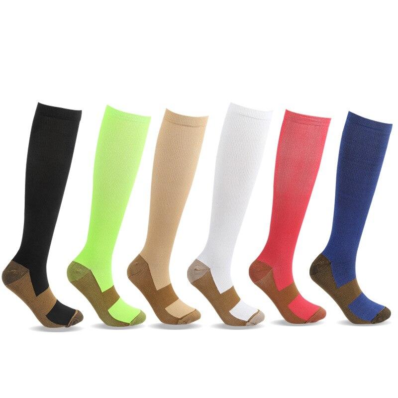 Мужские эффективные Экономичные нейлоновые высокие Компрессионные спортивные футбольные чулки дешевые длинные носки для футбола