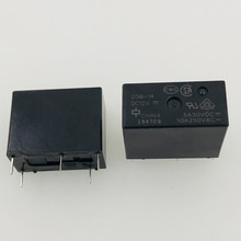 New 10pcs/lot Relay G5Q-14-DC12V G5Q-14-12VDC G5Q-14-12V  G5Q-14  12VDC 10A 5PIN
