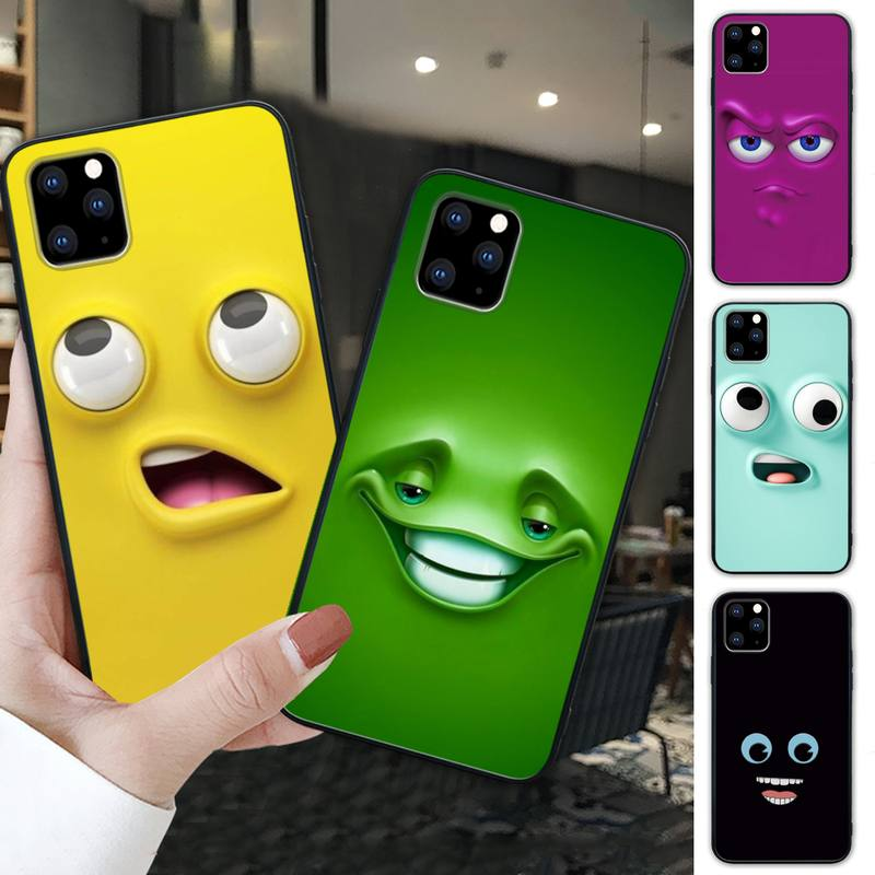 Print 3D Funny Face Cellphone Cover For Xiaomi Redmi 4X 7A 5 Plus 6 6A 7 8 8A 9 Note 4 8 T 9 Pro Cas