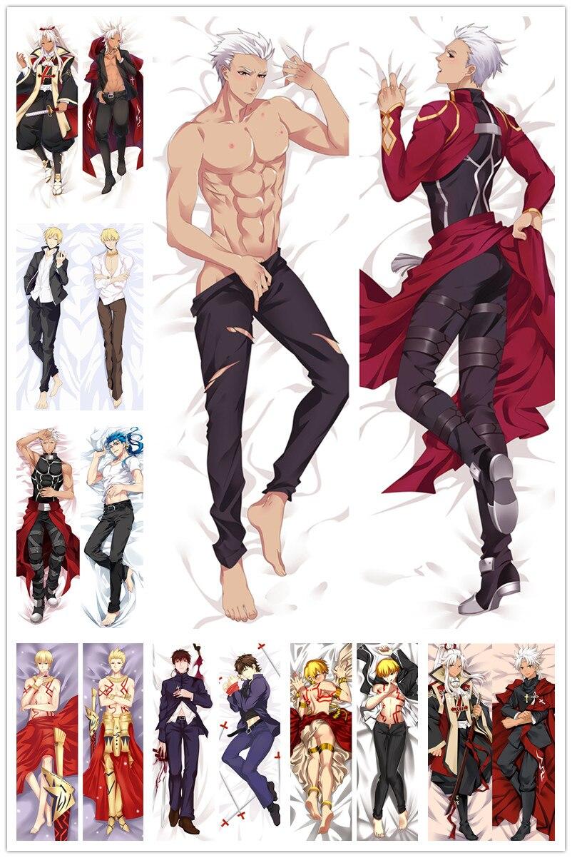 Anime Dakimakura Body Fate Male 150x50cm 100x35cm Pillow Case Cover Manga 1