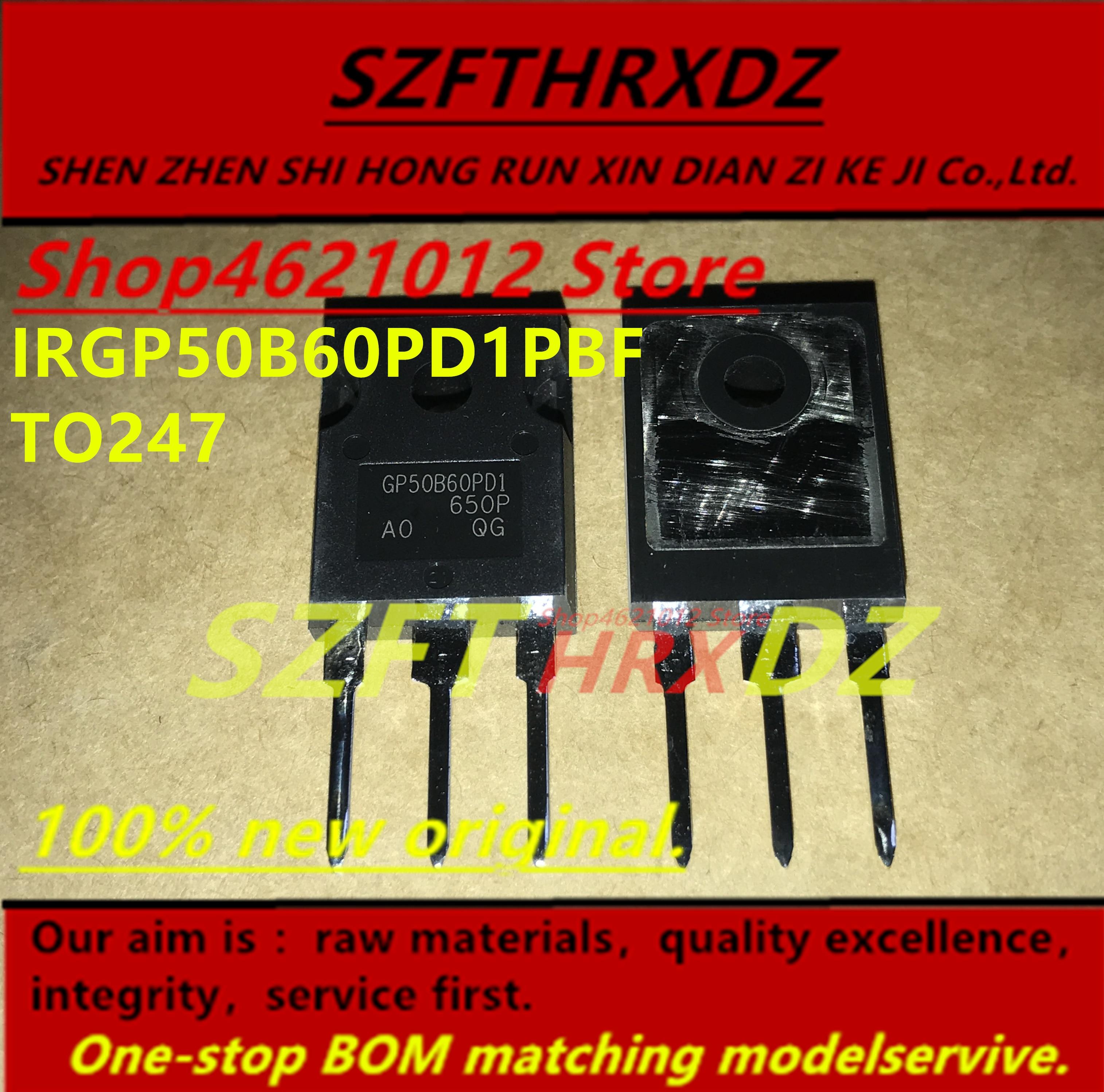 SZFTHRXDZ 100% new original (5PCS-10PCS) IRGP50B60PD1PBF GP50B60PD1 GP50B60PDI  TO247