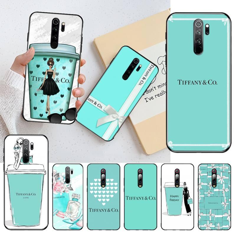 Nbdruicai moda azul caixa menina caso de telefone para redmi nota 8 8a 7 6 6a 5 5a 4 4x 4a go pro plus prime