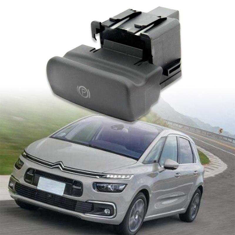 Para Peugeot Citroen C4 Picasso DS4 C4, freno de estacionamiento, freno electrónico de mano, interruptor de freno de mano 470702 negro mate