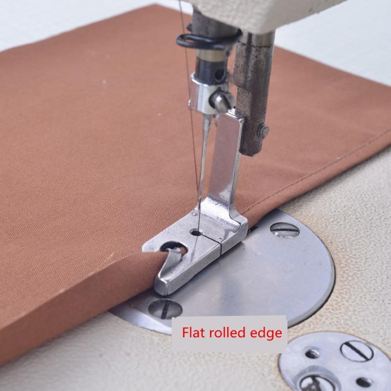 "1Pcs INDUSTRIAL Electric Sewing Machine Presser Feet 1/4""1/8""1/16""5/64""5/16""7/32""Rolled Hem Foot Sew Accessories"