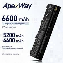 ApexWay Batterie 6 cellules PA5023U-1BRS PA5024U-1BRS PA5025U-1BRS Pour Toshiba Satellite C50 C800 C805 C840 C845 C850 C855 C870 C875