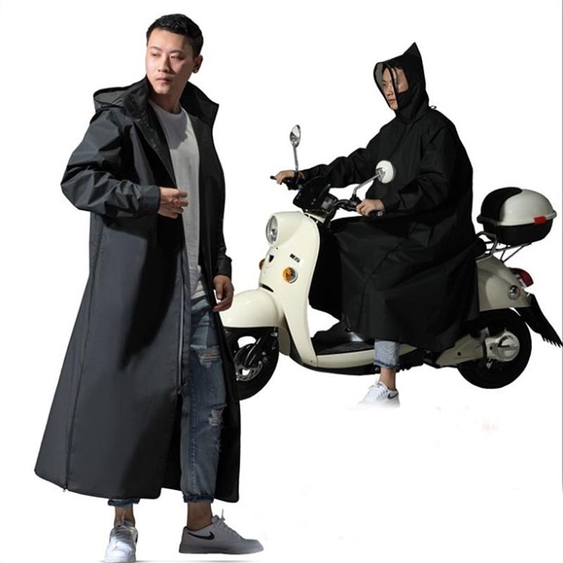 Venda quente EVA Raincoat Mulheres/Homens Zipper Com Capuz Poncho Rainwear Motocicleta Longo Estilo Capa De Chuva Poncho Caminhadas Ambiental