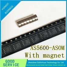 10 pièces AS5600-ASOM AS5600 SOP8 encodeur magnétique avec aimant Original authentique et nouveau en stock