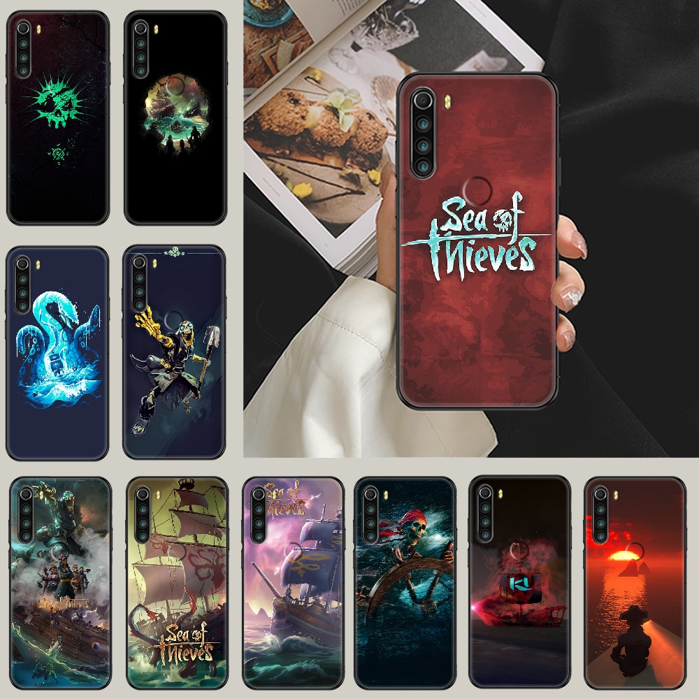 Game Sea of Thieves Phone case For Xiaomi Redmi Note 7 7A 8 8T 9 9A 9S 10 K30 Pro Ultra black fashion coque trend waterproof