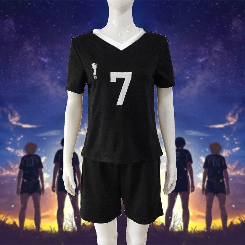 No.7 Miya Atsumu No.11 Osamu Miya, uniforme de voleibol Haikyuu para la parte superior, Cosplay Inarizaki, Jersey de alta, camiseta de equipo de voleibol + Pantalones cortos
