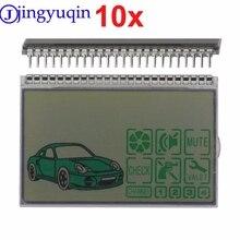 10pcs Keychain D3000 lcd display für Pandora DXL3000 Lcd Fernbedienung Schlüssel Fob Kette Zwei weg Auto Alarm System DXL 3000