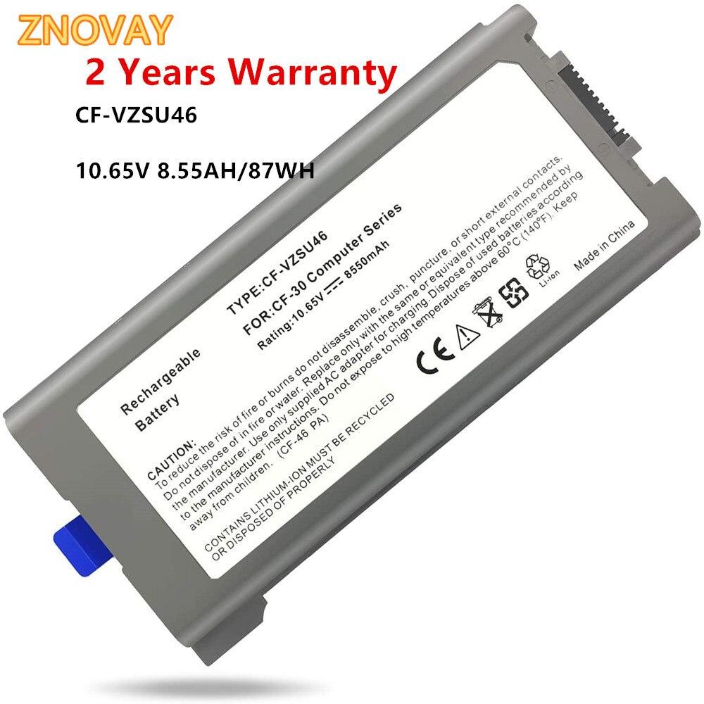 10.65V 87WH CF-VZSU46 Battery Replacement for Panasonic Toughbook Cf-30 Cf-31 Cf-53 MK1 MK2 MK3 MK4 Laptop Battery CF-VZSU46