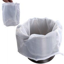 Round Bottom Home Brew Brewing Filter Bags Reusable Nylon Mesh Bags Drawstring Straining Micron Nylon Brew Bag for Beer Wine