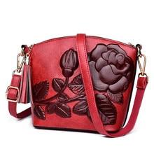3D Rose Flower Small Bags For Women 2018 Luxury Handbags Women Bags Designer Women Messenger Shoulder Bag Sheel Sac A Main Femme