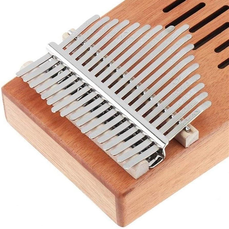 Kalimba 17-Key Thumb Piano with Tuning Hammer,Portable Finger Piano with Tuning Hammer,for Children Adult Beginners enlarge