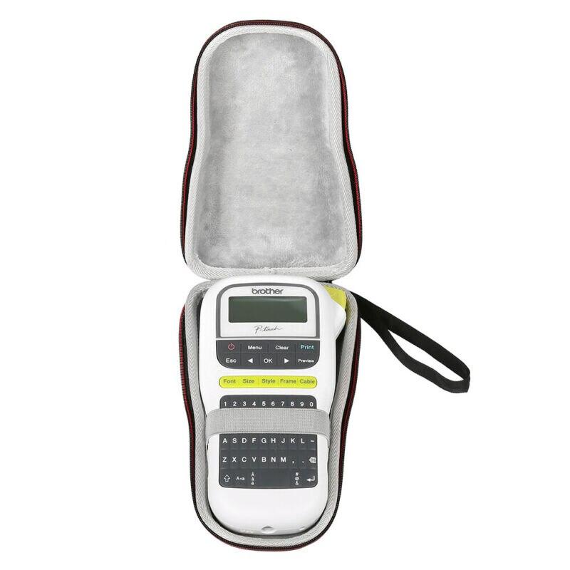 Nova forma caselagem caso duro apto para o irmão p-touch, pth110, fabricante de etiquetas portátil fácil