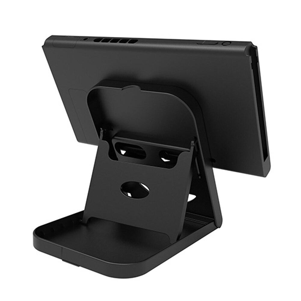 Soporte de consola portátil soporte de controlador plegable soporte de Base de juegos soporte de estación de carga soporte estable para interruptor