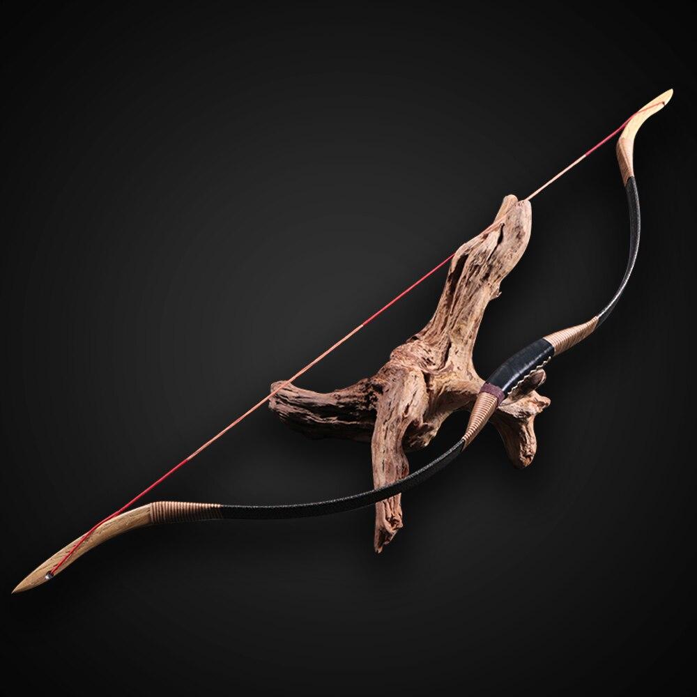 Huntingdoor التقليدية اليدوية ونغ بو Horsebow ، الصيد الرماية القوس ، قوس Recurve القوس مجموعة 30lbs-50lbs