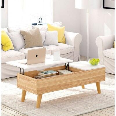 11012 multi-funcional de levantamento de armazenamento mesa de chá do agregado familiar sala de estar mesa de café sala de estar criativo mesa de final gabinete