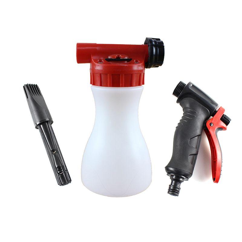 1000ml Car Washing Foam Bottle  Car Cleaning Washing Snow Foamer Spray Lance
