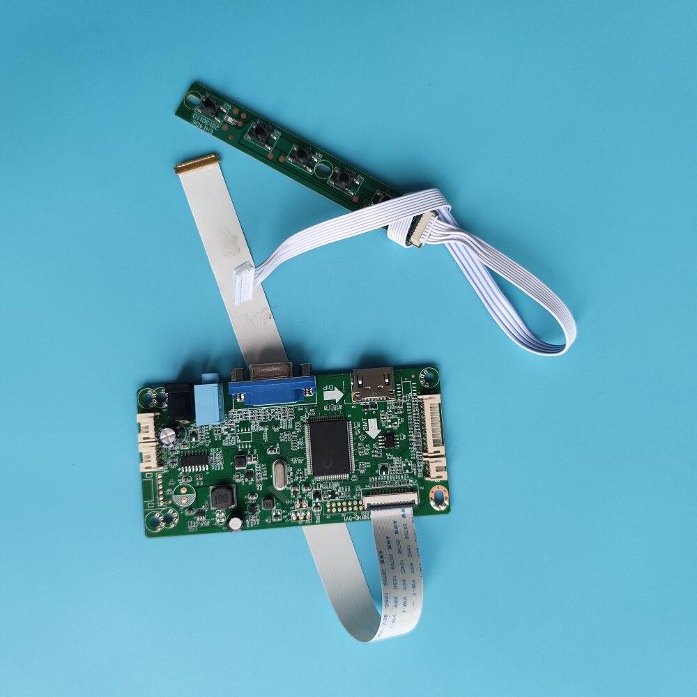 كيت ل N140BGE-E53/N140BGE-E33/N140BGE-E54 سائق LED LCD HDMI VGA المراقب المجلس 30pin 1366X768 شاشة EDP لوحة عرض