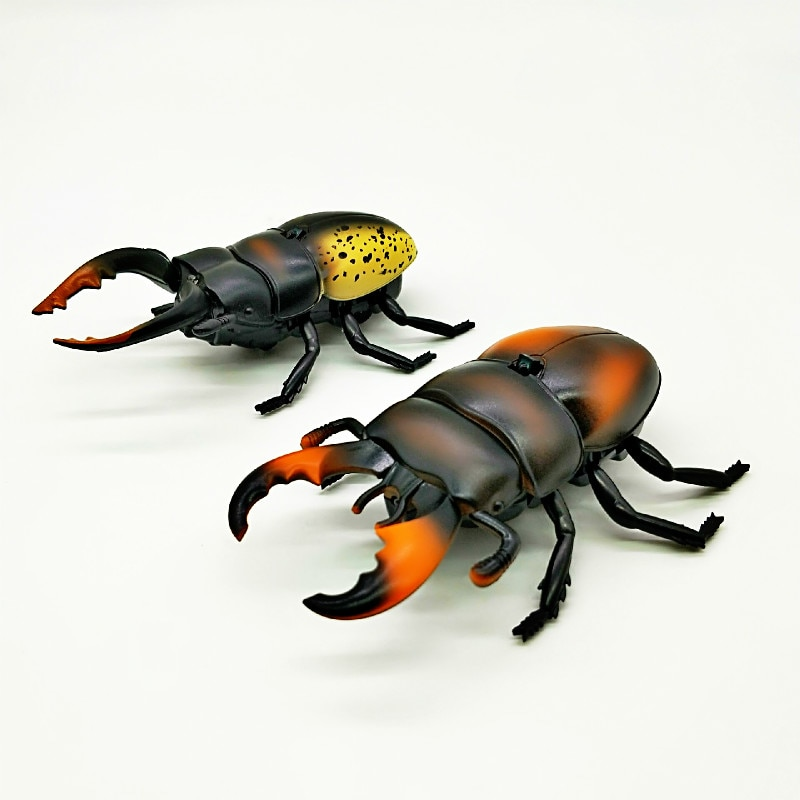 New Strange Remote Control Beetle Shovel Beetle Simulation of Insect Infrared RC Electric Insect Toys Truely Running enlarge
