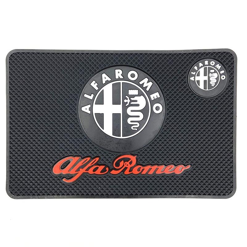 Doofoto capa de tapete decorativo para carro, capa de proteção para estilizar o carro alfa romeo 159 147 156 giulietta sp mito acessórios de carro