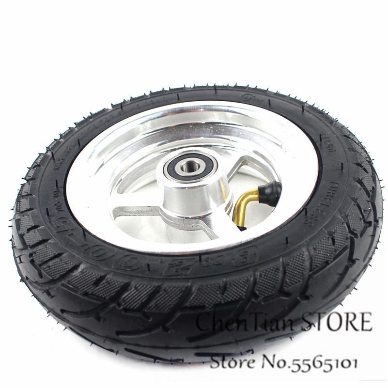 8x2.00-5 Tubeless Tire Wheel Tyre 8X2.00-5 wheel hub For Kugoo C3 S3 S2 MINI Electric BIKE