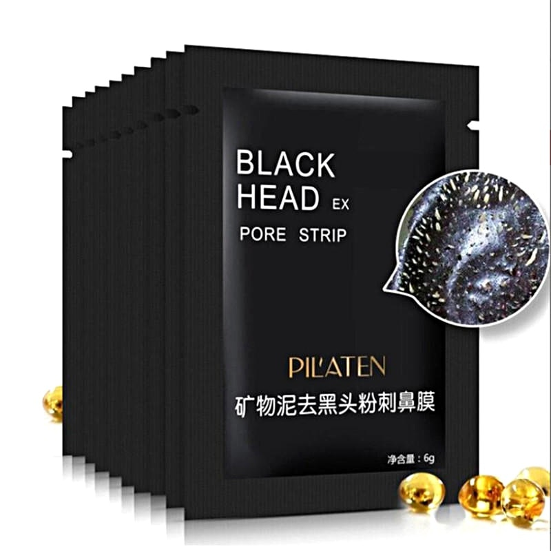 10/5Pcs Deep Cleaning Nasal Mineral Mud Nose Mask Acne Removing Minerals Blackhead Pore Peel Off Bla