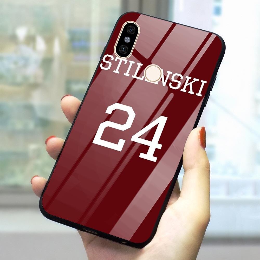 Teen wolf mccall 11 palavras capa de telefone para xiaomi redmi 6a caso redmi 4x mi a1 a2 8 lite 9 f1 nota 5 6 7 pro vidro temperado