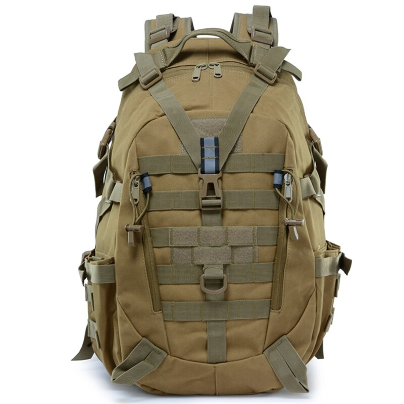25L Large Capacity Backpack Waterproof Nylon Military Tactics Molle Army Bag Men Backpack Rucksack For Hike Travel Backpacks