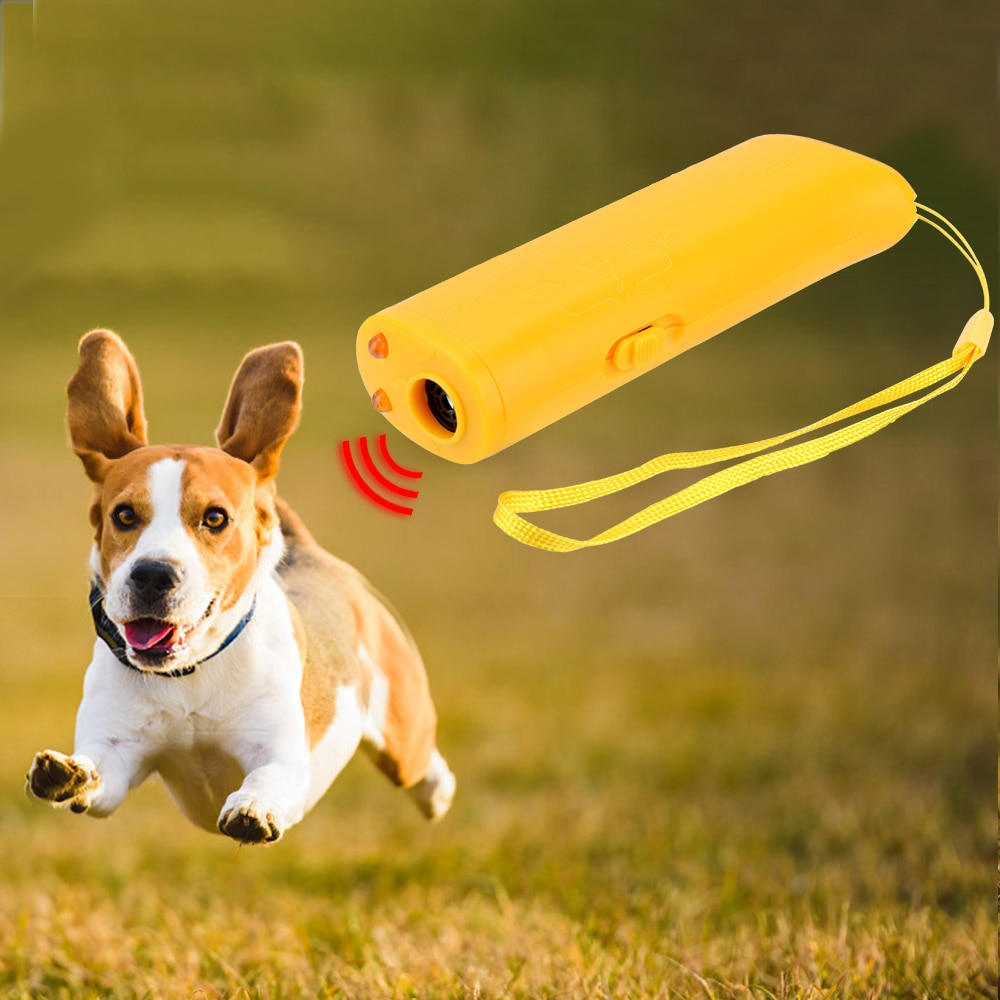 3 in 1 Pet Dog Training Devices Ultrasonic Equipment Anti Barking Stop Barking Living Room Pest Control Pet Dog Repeller