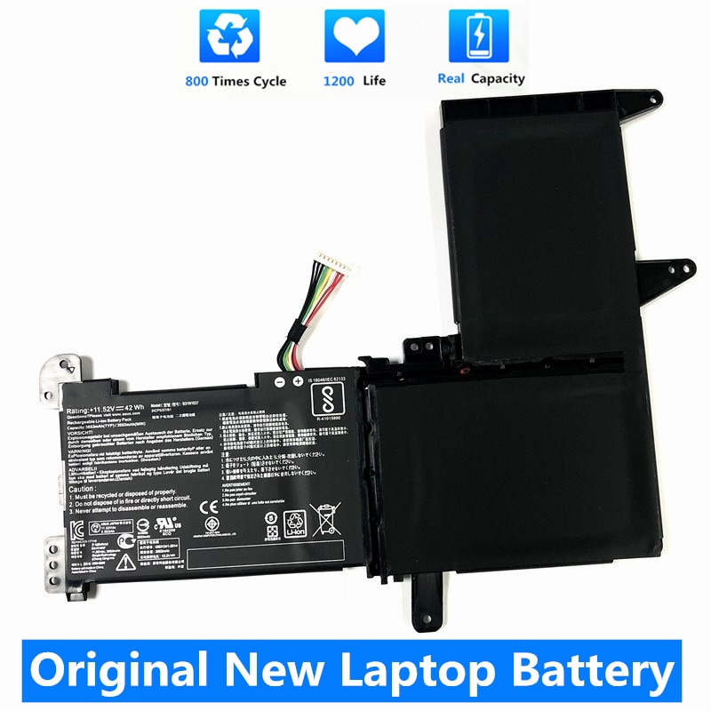 CSMHY الاصل جديد B31N1637 بطارية ل ASUS X510 X510UA X510UF X510UQ VivoBook S15 S510UA S510UQ S510UN S510UR F510UA F510UQ