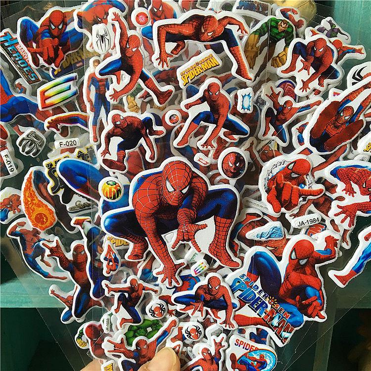 6-uds-marvel-pegatinas-de-spiderman-para-ninos-lindos-pegatinas-de-anime-de-dibujos-animados-3d-pegatinas-ninas-nino-pegatinas