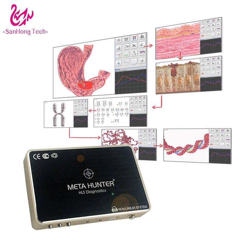 سعر المصنع ميتا هنتر 4025 nls محلل الصحة مع آلة اختبار الحساسية المصنوعة في الصين