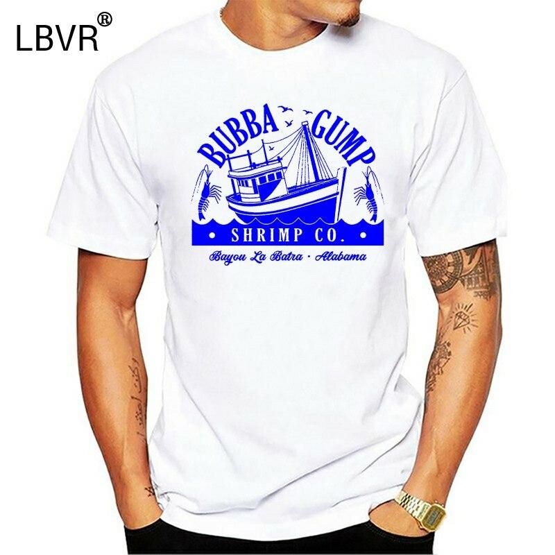 Bubba Gump Garnelen T-Shirt-Wald Gump Top Retro 90S Film Film Herren Oder Damen Stilvolle Individuelle T Shirt