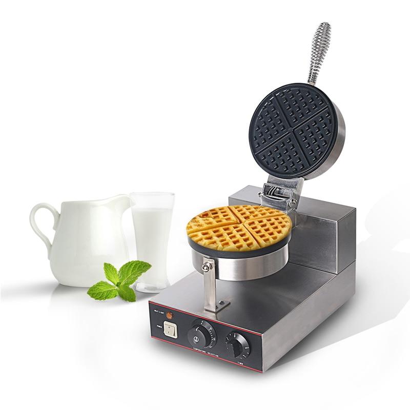 ITOP Waffle Machine Stainless Steel Waffle Baker Non-stick Electric Waffle Iron Maker Cake Oven EU/UK Plug WF-1 недорого