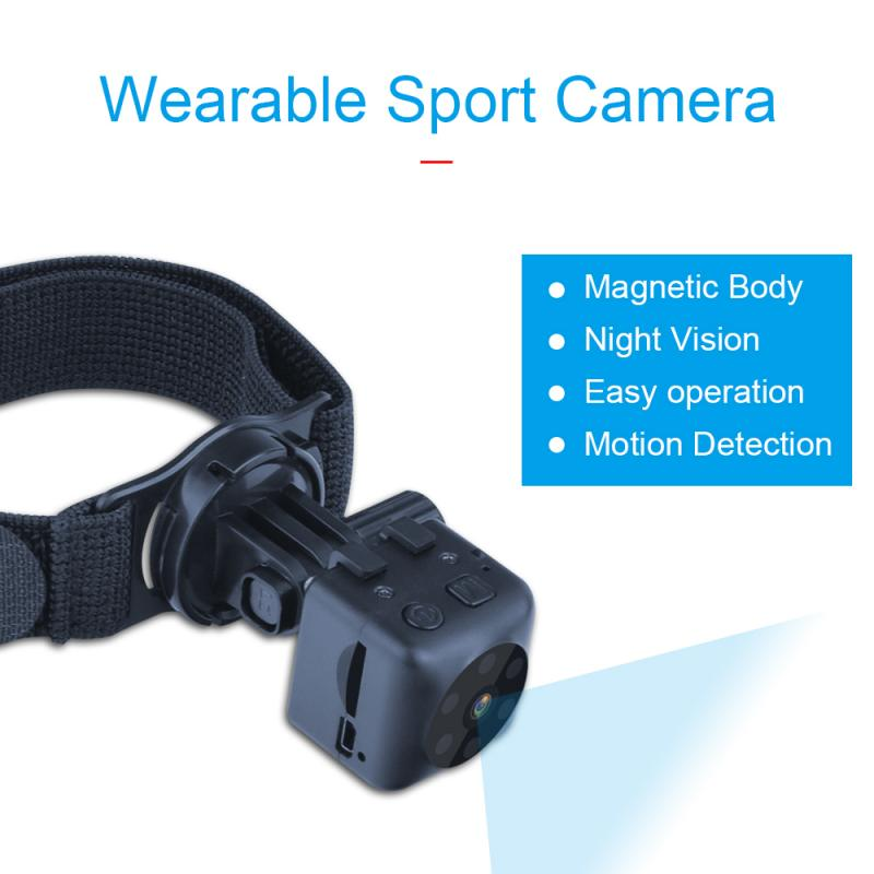Mini Camera HD 720P Camera Camcorders Sport DV IR Night Vision Motion Detection Small Camcorder DVR Video Recorder Camera