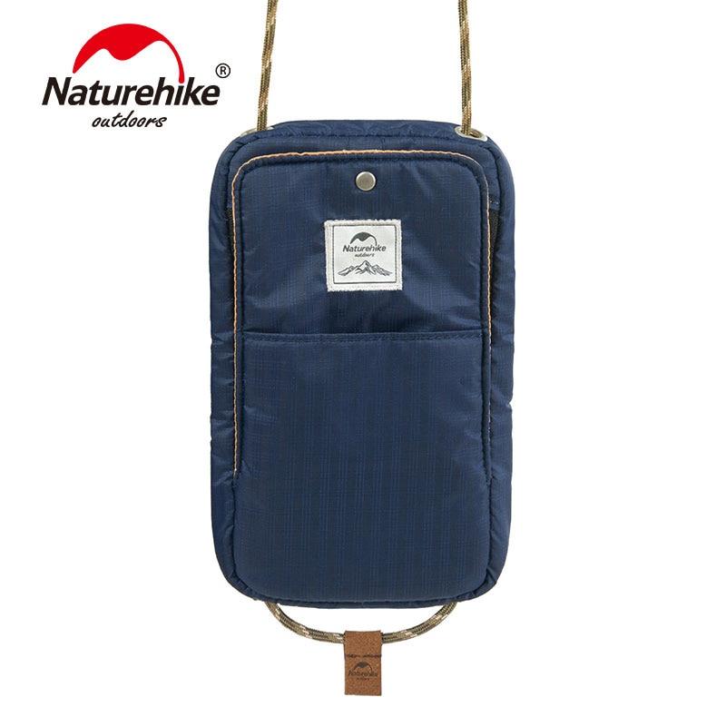 Bolso de viaje multifuncional impermeable ultraligero portátil Naturehike para documentos tarjetas de crédito cartera NH17X010-B
