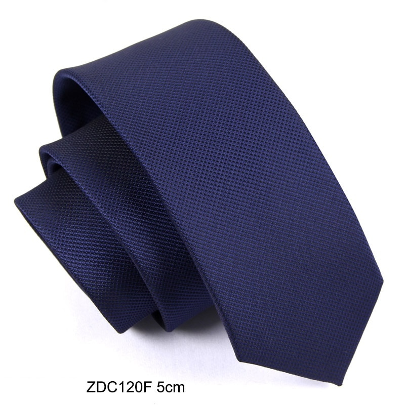 High Quality 2019 New Designers Brands Fashion Business Casual 5cm 6cm Slim Ties for Men Necktie Office Work with Gift Box