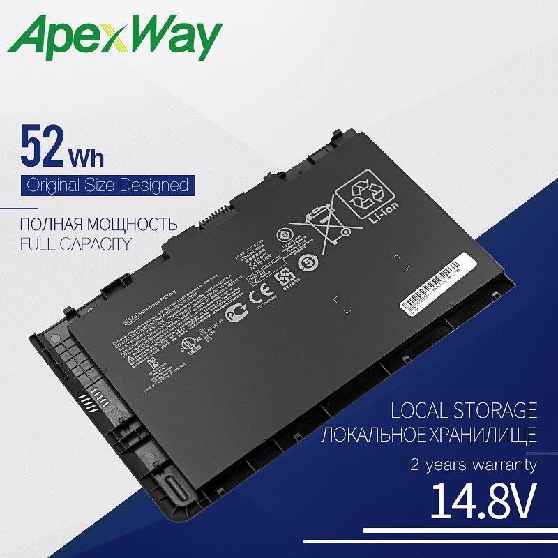 Apexway 14.8V 52Wh BT04 BT04XL جديد محمول بطارية لجهاز HP EliteBook Folio 9470 9470M 696621-001 HSTNN-DB3Z BA06 BA06XL H4Q47AA