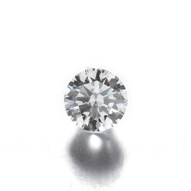 0.55ct-1.3ct DEF اللون الأبيض VS وضوح مستدير فضفاض HPHT/CVD مختبر نمت الماس لصنع المجوهرات